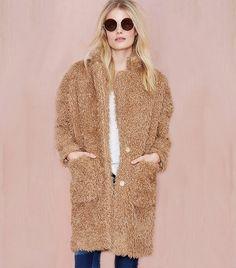 www.imdb.me/jessicasirls  fashion style coat fur  The Best Coats for Every Zip Code via @WhoWhatWear