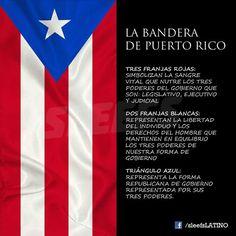 Puerto Rico...La Bandera Borinque~a y su significado <3