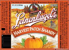 Leinenkugel's Harvest Patch Shandy Beer Review