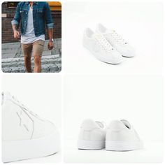 White Converse, outfit, men, sneakers, summer
