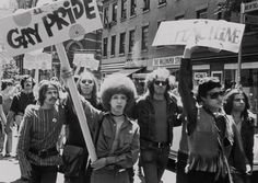 1980s nyc protesters   ... : Christopher Street Liberation Day, New York City, June 28, 1970
