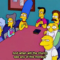 Reverend lovejoy gifs - Google Search
