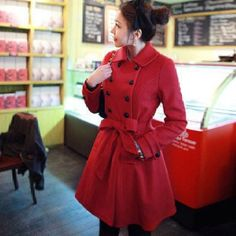 Red Winter Coat - I want it!!!!