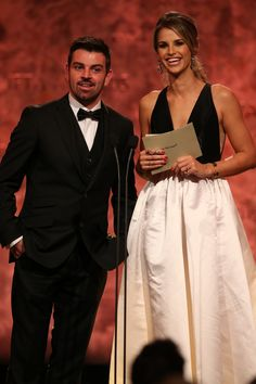 Guest Presenters Andy Quirke and Vogue Williams at the IFTA Awards Personality, Awards, Public, Presents, Vogue, Gifts, Favors, Gift, En Vogue