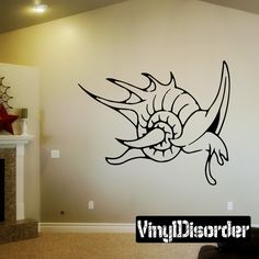 Fish Wall Decal - Vinyl Decal - Car Decal - DC006