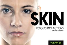 Check out Skin - 25 Retouching Actions by SparkleStock on Creative Market