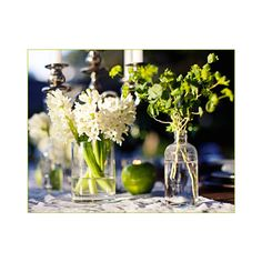 Twilight Inspired Wedding Part 1 Tablescape ❤ liked on Polyvore