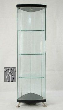 Klingsbo Light Corner Gl Curio Display Cabinet