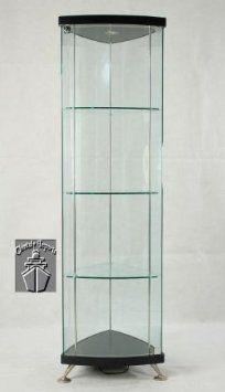 Klingsbo Light | Corner Glass Curio Display Cabinet