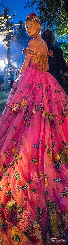 Très Haute Diva ♔ Dolce & Gabbana Alta Moda Fall/Winter 2015-16