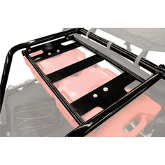 Tusk Rear Bumper, Cargo Rack, and Spare Tire Carrier for Polaris RZR 800 Models