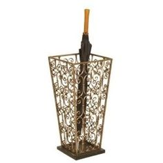 When we think of indoor umbrella stands, we think of an amazing antique umbrella stand, office umbrella stand, or a coat rack with umbrella stand...