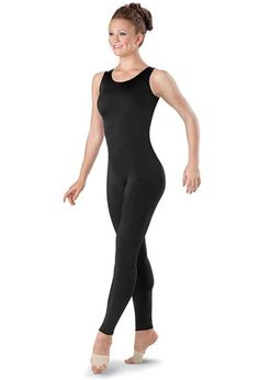 Ankle-Length Tank Unitard - good ref for Tracer. If only it had sleeves.