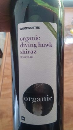 Woolworths Organic Diving Hawk Western Cape Shiraz 2015 by Stellar Winery 92+ Points Sommelier Miguel Chan www.vivino.com/users/miguel-chan  #SouthAfrica #Wine #MiguelChan