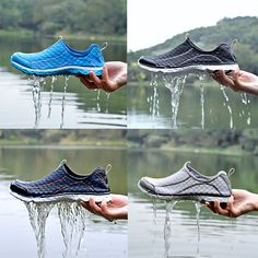 Men and women water shoes