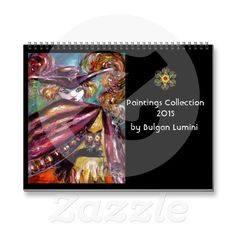 Paintings Collection by Bulgan Lumini -  2015 Wall Calendar