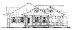 Hideaway Floor Plan   Glenn Layton Homes Jacksonville Beach Custom Homes