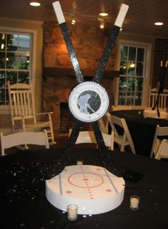 Hockey centerpiece
