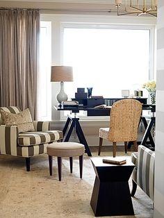 Sarah Richardson Design - West Coast Classic - Office
