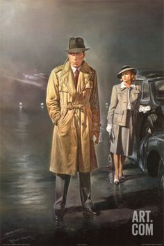 Casablanca Art Print by Renato Casaro at Art.com