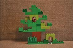 Дерево с дуплом и норкой. Блог Елены Кручининой
