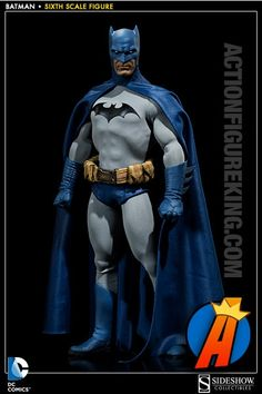 Amazing sixth scale Batman action figure from Sideshow.
