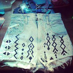 Moda tribal.