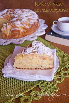 torta di mele al mascarpone by essenzadivaniglia2, via Flickr