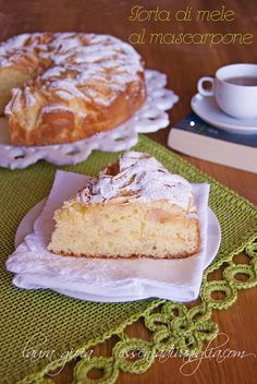 torta di mele al mascarpone by essenzadivaniglia2, via Flickr