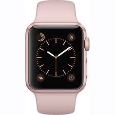 NEW Apple Watch Series 1 38mm Rose Gold Aluminum Case Pink Sport Band MNNH2LL/A