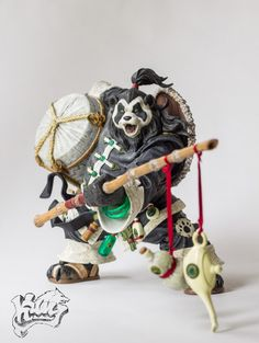 World of Warcraft Pandaren Brewmaster Chen Stormstout Deluxe Collector Figure