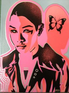 Hey, I found this really awesome Etsy listing at https://www.etsy.com/listing/130438628/androids-butterflies2-painting