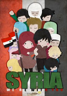 Let's pray for our brothers and sisters in Syria. We're with you! tag: islam, spreadsalam