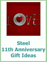 11th anniversary present ideas for him and her - ideas that your husband and boyfriend will