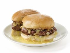 Butter Burgers Recipe : Food Network Kitchens : Food Network - FoodNetwork.com