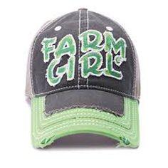 Farm Girl Baseball Cap - Clothing   USFarmer.com