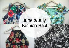 June & July Fashion Haul | Pull & Bear, Soeurs.co, Tracy Einny | MyStyleBite
