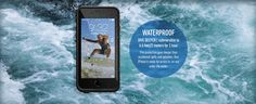 WATERPROOF - DIVE DEEPER | submersible to 6.6 feet/2 meters for 1 hour - This protection goes deeper than acidental spills and splashes. Your iPhone is ready for action in, on and under the water Underwater, Diving, Iphone 6, Action, Group Action, Scuba Diving, Under The Water