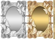 Silver And Gold Butterflies Card Fronts