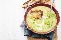 Niet voor niets een klassieker, deze soep met knapperige bacon - Recept…