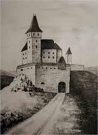 Contemporary image of Cachtice Castle