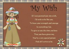 A sweet card of appreciation for someone's special qualities. Free online My Wish For You ecards on Friendship My Wish For You, One Wish, Are You The One, Give It To Me, Friends Day, Cards For Friends, Special People, Special Person, Friendship Words