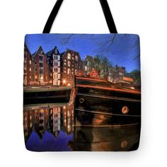 Tote Bags - A Time to Reflect Tote Bag by Nadia Sanowar
