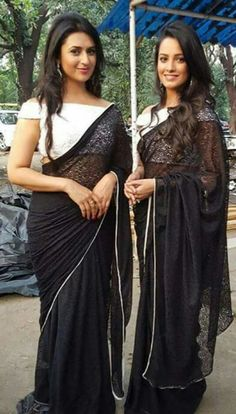 Diyvanka Tripathi with the co-actor Anitha Hassanandani Reddy