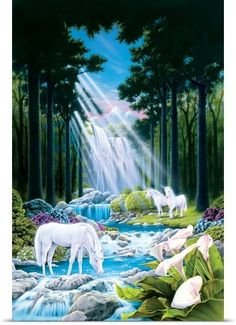 °Secret Unicorn Valley by RobinKoni