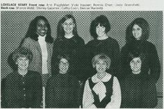 Lovelace dorm staff in 1967