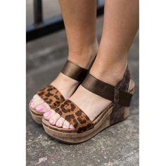 reputable site 8ddcb 61ac0 Summer Women Comfy Wedges Platform Sandals Brown Wedges, Mint Julep  Boutique, Walk On,