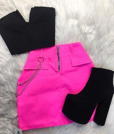 Laila Closet - Your shopping destination. Neon Outfits, Cute Swag Outfits, Teen Fashion Outfits, Edgy Outfits, Mode Outfits, Retro Outfits, Grunge Outfits, Look Fashion, Outfits For Teens
