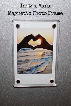 Instax Mini Magnetic Photo Frame  #instaxmini