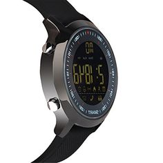 Fitness Tracker Waterproof Bluetooth Smart Watch Sport Pedometer for Android iOS   Information reminder: After BT connection with phone via APP, the watch will remind you timely about incoming call, SMS, Twitter, Facebook, WhatsApp, Skype